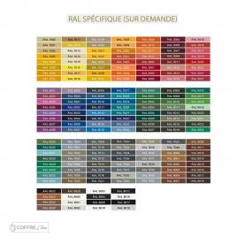 Cache climatisation couleur à la demande Coffre Clim - RAL Spécifique