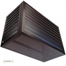 Cache Clim Design Aluminium Noir Condor Coffre-Clim