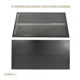 Capotage Additionnel Gris Anthracite Aluminium pour coffre Condor & Colibri