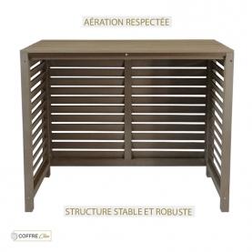 Aération respectée, Structure stable et robuste