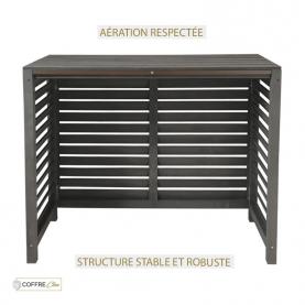 Aération respectée & structure robuste