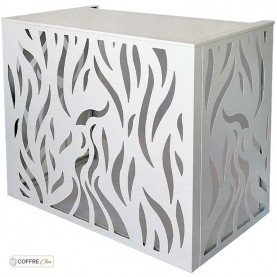 Cache PAC en aluminium Coffre Clim Colibri